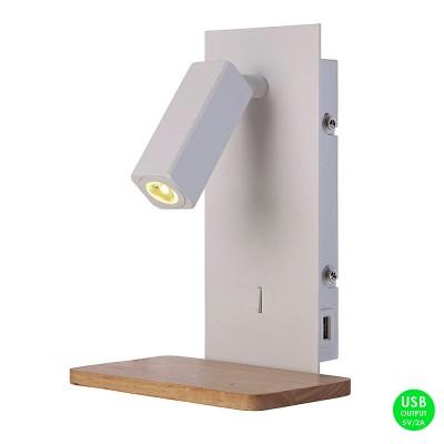 Настенный светильник бра Mantra 5463 NORDICA IIБра хай тек стиля<br><br><br>Цветовая t, К: WW - теплый белый 2700-3000 К<br>Тип лампы: LED (входят в комплект)<br>Тип цоколя: LED<br>Цвет арматуры: белый<br>Ширина, мм: 150<br>Длина, мм: 120<br>Высота, мм: 220<br>MAX мощность ламп, Вт: 3