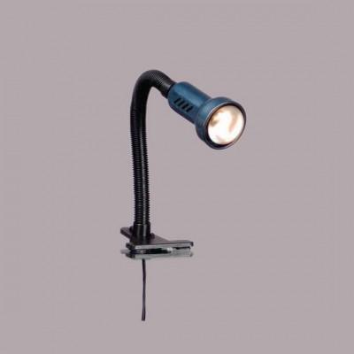 Светильник Globo 5486 PracticaНа прищепке<br>Светильники-споты – это оригинальные изделия с современным дизайном. Они позволяют не ограничивать свою фантазию при выборе освещения для интерьера. Такие модели обеспечивают достаточно качественный свет. Благодаря компактным размерам Вы можете использовать несколько спотов для одного помещения.  Интернет-магазин «Светодом» предлагает необычный светильник-спот Globo 5486 по привлекательной цене. Эта модель станет отличным дополнением к люстре, выполненной в том же стиле. Перед оформлением заказа изучите характеристики изделия.  Купить светильник-спот Globo 5486 в нашем онлайн-магазине Вы можете либо с помощью формы на сайте, либо по указанным выше телефонам. Обратите внимание, что мы предлагаем доставку не только по Москве и Екатеринбургу, но и всем остальным российским городам.<br><br>S освещ. до, м2: 3<br>Тип товара: Настольная лампа<br>Тип лампы: накал-я - энергосбер-я<br>Тип цоколя: E14 R50<br>Количество ламп: 1<br>Ширина, мм: 110<br>MAX мощность ламп, Вт: 40<br>Длина, мм: 110<br>Высота, мм: 400<br>Цвет арматуры: черный