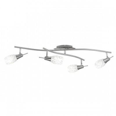 Светильник на 4 лампы Globo 54982-4 AvenueС 4 лампами<br>Светильники-споты – это оригинальные изделия с современным дизайном. Они позволяют не ограничивать свою фантазию при выборе освещения для интерьера. Такие модели обеспечивают достаточно качественный свет. Благодаря компактным размерам Вы можете использовать несколько спотов для одного помещения. <br>Интернет-магазин «Светодом» предлагает необычный светильник-спот Globo 54982-4 по привлекательной цене. Эта модель станет отличным дополнением к люстре, выполненной в том же стиле. Перед оформлением заказа изучите характеристики изделия. <br>Купить светильник-спот Globo 54982-4 в нашем онлайн-магазине Вы можете либо с помощью формы на сайте, либо по указанным выше телефонам. Обратите внимание, что мы предлагаем доставку не только по Москве и Екатеринбургу, но и всем остальным российским городам.<br><br>S освещ. до, м2: 3<br>Тип лампы: накал-я - энергосбер-я<br>Тип цоколя: E14<br>Количество ламп: 4<br>Ширина, мм: 500<br>MAX мощность ламп, Вт: 13<br>Длина, мм: 900<br>Высота, мм: 175<br>Цвет арматуры: серебристый/хром