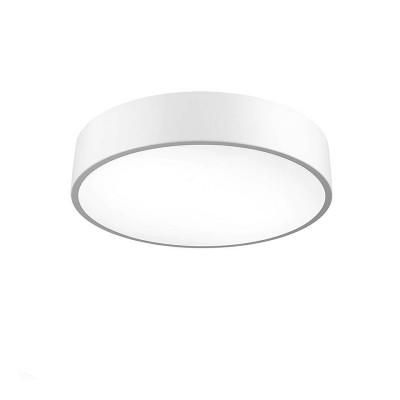 Cветильник Mantra 5500 CUMBUCOкруглые светильники<br><br><br>S освещ. до, м2: 20<br>Цветовая t, К: CW - холодный белый 4000 К<br>Тип лампы: LED (входят в комплект)<br>Тип цоколя: LED<br>Цвет арматуры: белый<br>Диаметр, мм мм: 600<br>Высота, мм: 100<br>MAX мощность ламп, Вт: 50