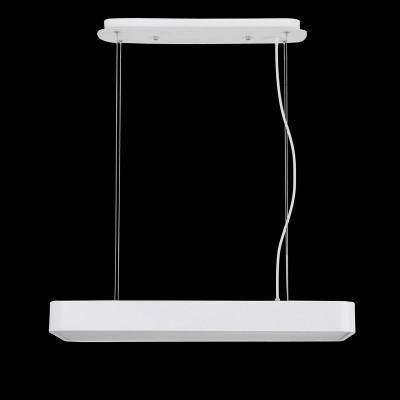Подвесной светильник Mantra 5501+5517 CUMBUCOподвесные светодиодные светильники<br><br><br>Цветовая t, К: CW - холодный белый 4000 К<br>Тип лампы: LED (входят в комплект)<br>Тип цоколя: LED<br>Цвет арматуры: белый<br>Ширина, мм: 320<br>Длина, мм: 730<br>Высота, мм: 200 - 1600 (плафон 100)<br>MAX мощность ламп, Вт: 50