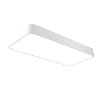 Потолочный светильник Mantra 5501 CUMBUCOпрямоугольные светильники<br><br><br>S освещ. до, м2: 20<br>Цветовая t, К: CW - холодный белый 4000 К<br>Тип лампы: LED (входят в комплект)<br>Тип цоколя: LED<br>Цвет арматуры: белый<br>Ширина, мм: 320<br>Длина, мм: 730<br>Высота, мм: 100<br>MAX мощность ламп, Вт: 50