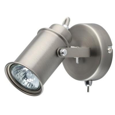 Светильник De Markt 551020101 Вальтеродиночные споты<br>Функциональный миниатюрный настенно-потолочный светильник прекрасно подойдет для зональной подсветки современного интерьера и не займет много места. Металлическое основание представлено в двух трендовых матовых оттенках - античная бронза и серебро. Главное преимущество модели - плафон, оснащенный спот-системой, которая позволяет регулировать направление светового потока. Минималистичный дизайн светильника с легким намеком на ретро стилистику выглядит очень стильно, особенно эффектно модель будет смотреться в обстановке, оформленной в духе лофта, индастриал, минимализма.