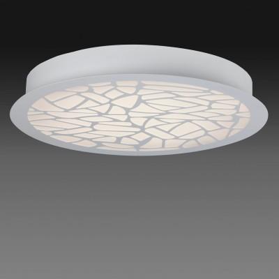 Потолочный светильник Mantra 5512 PETACAкруглые светильники<br>Настенно-потолочные светильники – это универсальные осветительные варианты, которые подходят для вертикального и горизонтального монтажа. В интернет-магазине «Светодом» Вы можете приобрести подобные модели по выгодной стоимости. В нашем каталоге представлены как бюджетные варианты, так и эксклюзивные изделия от производителей, которые уже давно заслужили доверие дизайнеров и простых покупателей.  Настенно-потолочный светильник Mantra 5512 станет прекрасным дополнением к основному освещению. Благодаря качественному исполнению и применению современных технологий при производстве эта модель будет радовать Вас своим привлекательным внешним видом долгое время. Приобрести настенно-потолочный светильник Mantra 5512 можно, находясь в любой точке России.<br><br>S освещ. до, м2: 19<br>Цветовая t, К: WW - теплый белый 2700-3000 К<br>Тип лампы: LED (входят в комплект)<br>Тип цоколя: LED<br>Цвет арматуры: белый<br>Диаметр, мм мм: 600<br>Высота, мм: 80<br>MAX мощность ламп, Вт: 47