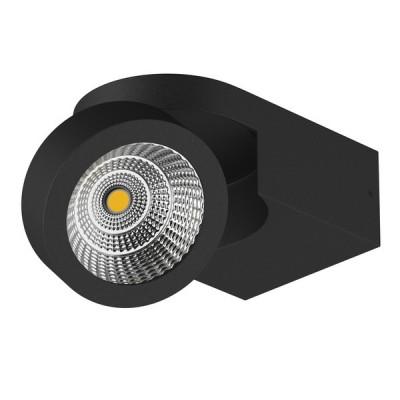 Купить 055173 Светильник SNODO LED 10W 980LM 23G ЧЕРНЫЙ 3000K IP20, Lightstar, Китай