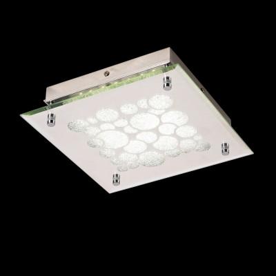 Потолочный светильник Mantra 5551 DIAMANTEквадратные светильники<br>Настенно-потолочные светильники – это универсальные осветительные варианты, которые подходят для вертикального и горизонтального монтажа. В интернет-магазине «Светодом» Вы можете приобрести подобные модели по выгодной стоимости. В нашем каталоге представлены как бюджетные варианты, так и эксклюзивные изделия от производителей, которые уже давно заслужили доверие дизайнеров и простых покупателей.  Настенно-потолочный светильник Mantra 5551 станет прекрасным дополнением к основному освещению. Благодаря качественному исполнению и применению современных технологий при производстве эта модель будет радовать Вас своим привлекательным внешним видом долгое время. Приобрести настенно-потолочный светильник Mantra 5551 можно, находясь в любой точке России.<br><br>S освещ. до, м2: 6<br>Цветовая t, К: CW - холодный белый 4000 К<br>Тип лампы: LED (входят в комплект)<br>Тип цоколя: LED<br>Цвет арматуры: серебристый хром<br>Ширина, мм: 250<br>Длина, мм: 250<br>Высота, мм: 60<br>MAX мощность ламп, Вт: 15,5