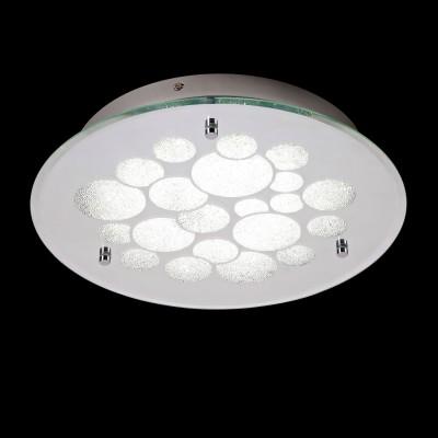 Потолочный светильник Mantra 5552 DIAMANTEкруглые светильники<br>Настенно-потолочные светильники – это универсальные осветительные варианты, которые подходят для вертикального и горизонтального монтажа. В интернет-магазине «Светодом» Вы можете приобрести подобные модели по выгодной стоимости. В нашем каталоге представлены как бюджетные варианты, так и эксклюзивные изделия от производителей, которые уже давно заслужили доверие дизайнеров и простых покупателей.  Настенно-потолочный светильник Mantra 5552 станет прекрасным дополнением к основному освещению. Благодаря качественному исполнению и применению современных технологий при производстве эта модель будет радовать Вас своим привлекательным внешним видом долгое время. Приобрести настенно-потолочный светильник Mantra 5552 можно, находясь в любой точке России.<br><br>S освещ. до, м2: 9<br>Цветовая t, К: CW - холодный белый 4000 К<br>Тип лампы: LED (входят в комплект)<br>Тип цоколя: LED<br>Цвет арматуры: серебристый хром<br>Количество ламп: 1<br>Диаметр, мм мм: 350<br>Высота, мм: 65<br>MAX мощность ламп, Вт: 23,5