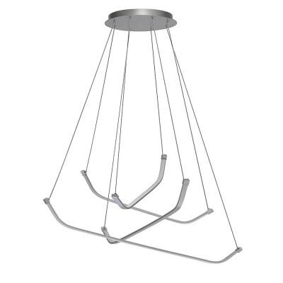 Подвесной светильник Mantra 5570 PAPUAподвесные люстры хай тек<br>Компания «Светодом» предлагает широкий ассортимент люстр от известных производителей. Представленные в нашем каталоге товары выполнены из современных материалов и обладают отличным качеством. Благодаря широкому ассортименту Вы сможете найти у нас люстру под любой интерьер. Мы предлагаем как классические варианты, так и современные модели, отличающиеся лаконичностью и простотой форм.  Стильная люстра Mantra 5570 станет украшением любого дома. Эта модель от известного производителя не оставит равнодушным ценителей красивых и оригинальных предметов интерьера. Люстра Mantra 5570 обеспечит равномерное распределение света по всей комнате. При выборе обратите внимание на характеристики, позволяющие приобрести наиболее подходящую модель. Купить понравившуюся люстру по доступной цене Вы можете в интернет-магазине «Светодом». Мы предлагаем доставку не только по Москве и Екатеринбурге, но и по всей России.<br><br>Установка на натяжной потолок: Да<br>S освещ. до, м2: 20<br>Цветовая t, К: WW - теплый белый 2700-3000 К<br>Тип лампы: LED (входят в комплект)<br>Тип цоколя: LED<br>Цвет арматуры: серебристый хром<br>Диаметр, мм мм: 1035<br>Высота, мм: 500 - 1600<br>MAX мощность ламп, Вт: 50