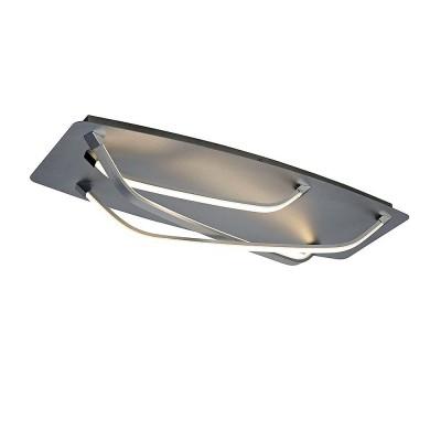 Потолочный светильник Mantra 5572 PAPUAлюстры хай тек потолочные<br>Компания «Светодом» предлагает широкий ассортимент люстр от известных производителей. Представленные в нашем каталоге товары выполнены из современных материалов и обладают отличным качеством. Благодаря широкому ассортименту Вы сможете найти у нас люстру под любой интерьер. Мы предлагаем как классические варианты, так и современные модели, отличающиеся лаконичностью и простотой форм.  Стильная люстра Mantra 5572 станет украшением любого дома. Эта модель от известного производителя не оставит равнодушным ценителей красивых и оригинальных предметов интерьера. Люстра Mantra 5572 обеспечит равномерное распределение света по всей комнате. При выборе обратите внимание на характеристики, позволяющие приобрести наиболее подходящую модель. Купить понравившуюся люстру по доступной цене Вы можете в интернет-магазине «Светодом». Мы предлагаем доставку не только по Москве и Екатеринбурге, но и по всей России.<br><br>Установка на натяжной потолок: Да<br>S освещ. до, м2: 10<br>Цветовая t, К: WW - теплый белый 2700-3000 К<br>Тип лампы: LED (входят в комплект)<br>Тип цоколя: LED<br>Цвет арматуры: серебристый хром<br>Ширина, мм: 320<br>Длина, мм: 770<br>Высота, мм: 145<br>MAX мощность ламп, Вт: 25