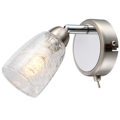 Светильник спот Globo 56023-1одиночные споты<br>Светильники-споты – это оригинальные изделия с современным дизайном. Они позволяют не ограничивать свою фантазию при выборе освещения для интерьера. Такие модели обеспечивают достаточно качественный свет. Благодаря компактным размерам Вы можете использовать несколько спотов для одного помещения.  Интернет-магазин «Светодом» предлагает необычный светильник-спот Globo 56023-1 по привлекательной цене. Эта модель станет отличным дополнением к люстре, выполненной в том же стиле. Перед оформлением заказа изучите характеристики изделия.  Купить светильник-спот Globo 56023-1 в нашем онлайн-магазине Вы можете либо с помощью формы на сайте, либо по указанным выше телефонам. Обратите внимание, что у нас склады не только в Москве и Екатеринбурге, но и других городах России.<br><br>S освещ. до, м2: 2<br>Тип лампы: галогенная/LED<br>Тип цоколя: G9 LED<br>Цвет арматуры: серебристый<br>Количество ламп: 1<br>Ширина, мм: 145<br>Длина, мм: 85<br>Высота, мм: 145<br>MAX мощность ламп, Вт: 3