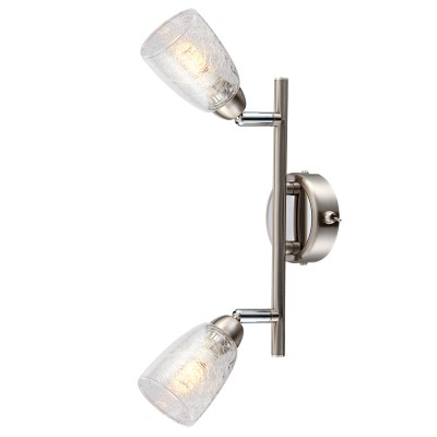 Светильник Globo 56023-2Двойные<br>Светильники-споты – это оригинальные изделия с современным дизайном. Они позволяют не ограничивать свою фантазию при выборе освещения для интерьера. Такие модели обеспечивают достаточно качественный свет. Благодаря компактным размерам Вы можете использовать несколько спотов для одного помещения.  Интернет-магазин «Светодом» предлагает необычный светильник-спот Globo 56023-2 по привлекательной цене. Эта модель станет отличным дополнением к люстре, выполненной в том же стиле. Перед оформлением заказа изучите характеристики изделия.  Купить светильник-спот Globo 56023-2 в нашем онлайн-магазине Вы можете либо с помощью формы на сайте, либо по указанным выше телефонам. Обратите внимание, что мы предлагаем доставку не только по Москве и Екатеринбургу, но и всем остальным российским городам.<br><br>Тип лампы: галогенная/LED<br>Тип цоколя: G9 LED<br>Количество ламп: 2<br>MAX мощность ламп, Вт: 3<br>Диаметр, мм мм: 140<br>Высота, мм: 250<br>Цвет арматуры: серебристый