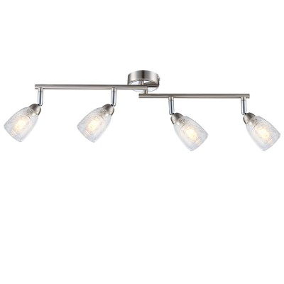Светильник Globo 56023-4С 4 лампами<br>Светильники-споты – это оригинальные изделия с современным дизайном. Они позволяют не ограничивать свою фантазию при выборе освещения для интерьера. Такие модели обеспечивают достаточно качественный свет. Благодаря компактным размерам Вы можете использовать несколько спотов для одного помещения.  Интернет-магазин «Светодом» предлагает необычный светильник-спот Globo 56023-4 по привлекательной цене. Эта модель станет отличным дополнением к люстре, выполненной в том же стиле. Перед оформлением заказа изучите характеристики изделия.  Купить светильник-спот Globo 56023-4 в нашем онлайн-магазине Вы можете либо с помощью формы на сайте, либо по указанным выше телефонам. Обратите внимание, что у нас склады не только в Москве и Екатеринбурге, но и других городах России.<br><br>S освещ. до, м2: 5<br>Тип лампы: галогенная/LED<br>Тип цоколя: G9 LED<br>Цвет арматуры: серебристый<br>Количество ламп: 4<br>Диаметр, мм мм: 600<br>Высота, мм: 140<br>MAX мощность ламп, Вт: 3