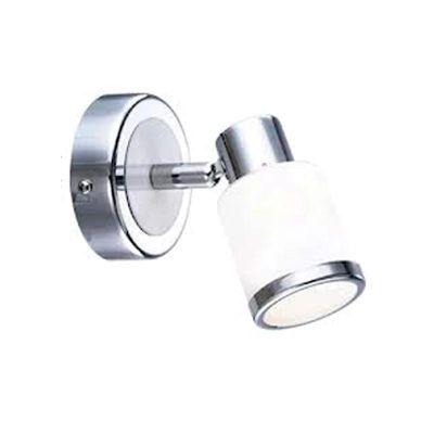 Светильник спот Globo 56030-1 PlatoonОдиночные<br>Светильники-споты – это оригинальные изделия с современным дизайном. Они позволяют не ограничивать свою фантазию при выборе освещения для интерьера. Такие модели обеспечивают достаточно качественный свет. Благодаря компактным размерам Вы можете использовать несколько спотов для одного помещения.  Интернет-магазин «Светодом» предлагает необычный светильник-спот Globo 56030-1 по привлекательной цене. Эта модель станет отличным дополнением к люстре, выполненной в том же стиле. Перед оформлением заказа изучите характеристики изделия.  Купить светильник-спот Globo 56030-1 в нашем онлайн-магазине Вы можете либо с помощью формы на сайте, либо по указанным выше телефонам. Обратите внимание, что у нас склады не только в Москве и Екатеринбурге, но и других городах России.<br><br>S освещ. до, м2: 2<br>Тип лампы: галогенная / LED-светодиодная<br>Тип цоколя: G9<br>Количество ламп: 1<br>Ширина, мм: 85<br>MAX мощность ламп, Вт: 33<br>Диаметр, мм мм: 85<br>Длина, мм: 113<br>Расстояние от стены, мм: 113<br>Высота, мм: 95<br>Оттенок (цвет): белый<br>Цвет арматуры: серебристый