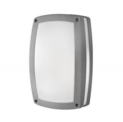 Techno 5612 серый Электростандарт Уличный светильникНастенные<br>Светильник предназначен для функционально-декоративного освещения садово-парковых зон, а также внутреннего и внешнего освещения зданий. Степень пыле-влагозащиты IР44 позволяет устанавливать светильник под открытым небом. Корпус уличного светильника изготовлен из литого под давлением алюминия, покрыт порошковой краской. Рассеиватель выполнен из полихлорида. Покрытие светильника устойчиво к воздействию окружающей среды и надежно защищает от коррозии.<br>Светильник рассчитан на работу с энергосберегающими лампами E27 мощностью до 18 Вт. В светильнике рекомендуется использовать энергосберегающие лампы Elektrostandard™.<br>Мощность: 2 х 18 Вт  Цоколь: Е27 Питание: 220-240 В / 50 Гц Степень пылевлагозащищенности: IР44<br><br>Крепление: настенное<br>Тип лампы: накаливания / энергосбережения / LED-светодиодная<br>Тип цоколя: Е27<br>Цвет арматуры: серый<br>Количество ламп: 2<br>Ширина, мм: 180<br>Длина, мм: 290<br>Расстояние от стены, мм: 87<br>Оттенок (цвет): серый<br>MAX мощность ламп, Вт: 18