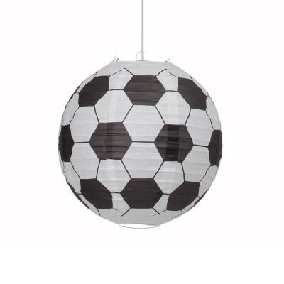 Абажур потолочный Brilliant 56299p74 SoccerАбажуры<br><br><br>Тип цоколя: E27<br>Цвет арматуры: пестрый<br>Диаметр, мм мм: 300