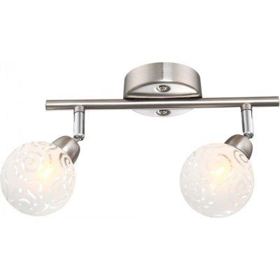 Светильник Globo 56392-2 OrleneДвойные<br>Светильники-споты – это оригинальные изделия с современным дизайном. Они позволяют не ограничивать свою фантазию при выборе освещения для интерьера. Такие модели обеспечивают достаточно качественный свет. Благодаря компактным размерам Вы можете использовать несколько спотов для одного помещения. <br>Интернет-магазин «Светодом» предлагает необычный светильник-спот Globo 56392-2 по привлекательной цене. Эта модель станет отличным дополнением к люстре, выполненной в том же стиле. Перед оформлением заказа изучите характеристики изделия. <br>Купить светильник-спот Globo 56392-2 в нашем онлайн-магазине Вы можете либо с помощью формы на сайте, либо по указанным выше телефонам. Обратите внимание, что мы предлагаем доставку не только по Москве и Екатеринбургу, но и всем остальным российским городам.<br><br>S освещ. до, м2: 3<br>Тип лампы: галогенная / LED-светодиодная<br>Тип цоколя: G9<br>Количество ламп: 2<br>Ширина, мм: 85<br>MAX мощность ламп, Вт: 28<br>Длина, мм: 255<br>Высота, мм: 175<br>Цвет арматуры: серебристый
