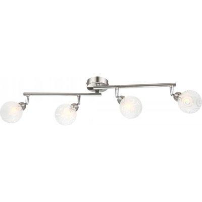 Светильник Globo 56392-4 OrleneС 4 лампами<br>Светильники-споты – это оригинальные изделия с современным дизайном. Они позволяют не ограничивать свою фантазию при выборе освещения для интерьера. Такие модели обеспечивают достаточно качественный свет. Благодаря компактным размерам Вы можете использовать несколько спотов для одного помещения.  Интернет-магазин «Светодом» предлагает необычный светильник-спот Globo 56392-4 по привлекательной цене. Эта модель станет отличным дополнением к люстре, выполненной в том же стиле. Перед оформлением заказа изучите характеристики изделия.  Купить светильник-спот Globo 56392-4 в нашем онлайн-магазине Вы можете либо с помощью формы на сайте, либо по указанным выше телефонам. Обратите внимание, что мы предлагаем доставку не только по Москве и Екатеринбургу, но и всем остальным российским городам.<br><br>S освещ. до, м2: 7<br>Тип лампы: галогенная / LED-светодиодная<br>Тип цоколя: G9<br>Количество ламп: 4<br>Ширина, мм: 80<br>MAX мощность ламп, Вт: 28<br>Длина, мм: 600<br>Высота, мм: 180<br>Цвет арматуры: серебристый