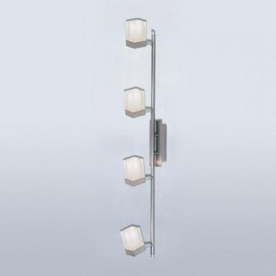 Светильник Globo 5644-4 Cool Style 1С 4 лампами<br>Светильники-споты – это оригинальные изделия с современным дизайном. Они позволяют не ограничивать свою фантазию при выборе освещения для интерьера. Такие модели обеспечивают достаточно качественный свет. Благодаря компактным размерам Вы можете использовать несколько спотов для одного помещения.  Интернет-магазин «Светодом» предлагает необычный светильник-спот Globo 5644-4 по привлекательной цене. Эта модель станет отличным дополнением к люстре, выполненной в том же стиле. Перед оформлением заказа изучите характеристики изделия.  Купить светильник-спот Globo 5644-4 в нашем онлайн-магазине Вы можете либо с помощью формы на сайте, либо по указанным выше телефонам. Обратите внимание, что у нас склады не только в Москве и Екатеринбурге, но и других городах России.<br><br>S освещ. до, м2: 10<br>Тип лампы: галогенная / LED-светодиодная<br>Тип цоколя: G9<br>Количество ламп: 4<br>Ширина, мм: 135<br>MAX мощность ламп, Вт: 40<br>Длина, мм: 760<br>Высота, мм: 135<br>Цвет арматуры: серебристый