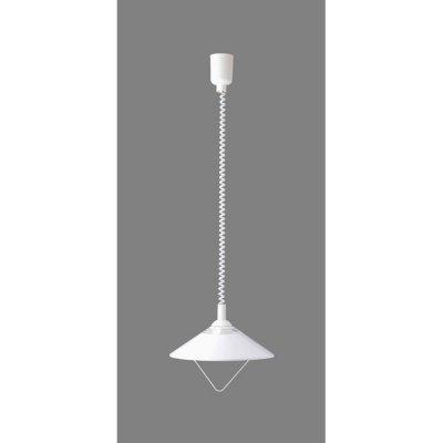 Подвес Brilliant 56478/05 ChrisОдиночные<br>Зачастую мы ищем идеальное освещение для своего дома и уделяем этому достаточно много времени. Так, например, если нам нужен светильник с количеством ламп - 1 и цвет плафонов должен быть - белый, а материал плафонов только полимер! То нам, как вариант, подойдет модель подвесного светильника Brilliant 56478/05.<br><br>S освещ. до, м2: 5<br>Тип товара: Светильник подвесной<br>Тип лампы: накаливания / энергосбережения / LED-светодиодная<br>Тип цоколя: E27<br>Количество ламп: 1<br>MAX мощность ламп, Вт: 75<br>Диаметр, мм мм: 340<br>Высота, мм: 600<br>Цвет арматуры: белый
