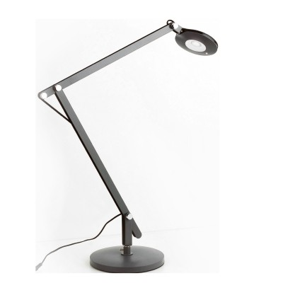 Настольная лампа Mantra 5650 NATALIAсветодиодные настольные лампы<br><br><br>Цветовая t, К: CW - дневной белый 6000 К<br>Тип лампы: LED (входят в комплект)<br>Тип цоколя: LED<br>Цвет арматуры: черный<br>Диаметр, мм мм: 190<br>Высота, мм: 300 - 960<br>MAX мощность ламп, Вт: 6