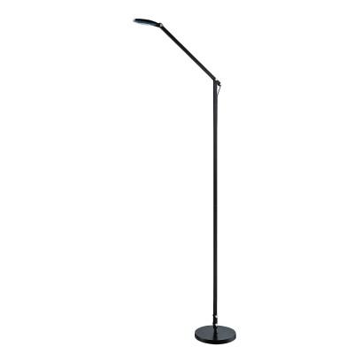Торшер Mantra 5655 NATALIAХай-тек<br><br><br>Цветовая t, К: CW - дневной белый 6000 К<br>Тип лампы: LED (входят в комплект)<br>Тип цоколя: LED<br>Цвет арматуры: черный<br>Диаметр, мм мм: 250<br>Высота, мм: 1220 - 1550<br>MAX мощность ламп, Вт: 6