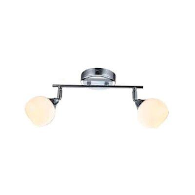 Светильник Globo 56565-2 ElizaДвойные<br>Светильники-споты – это оригинальные изделия с современным дизайном. Они позволяют не ограничивать свою фантазию при выборе освещения для интерьера. Такие модели обеспечивают достаточно качественный свет. Благодаря компактным размерам Вы можете использовать несколько спотов для одного помещения. <br>Интернет-магазин «Светодом» предлагает необычный светильник-спот Globo 56565-2 по привлекательной цене. Эта модель станет отличным дополнением к люстре, выполненной в том же стиле. Перед оформлением заказа изучите характеристики изделия. <br>Купить светильник-спот Globo 56565-2 в нашем онлайн-магазине Вы можете либо с помощью формы на сайте, либо по указанным выше телефонам. Обратите внимание, что у нас склады не только в Москве и Екатеринбурге, но и других городах России.<br><br>S освещ. до, м2: 4<br>Тип лампы: галогенная / LED-светодиодная<br>Тип цоколя: G9<br>Количество ламп: 2<br>Ширина, мм: 100<br>MAX мощность ламп, Вт: 33<br>Диаметр, мм мм: 100<br>Длина, мм: 300<br>Расстояние от стены, мм: 205<br>Высота, мм: 205<br>Оттенок (цвет): белый<br>Цвет арматуры: серебристый хром