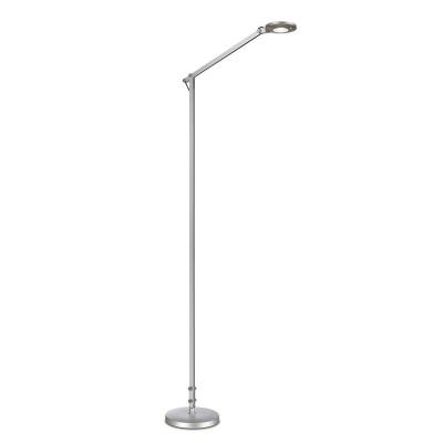 Торшер Mantra 5657 NATALIAТоршеры в стиле хай тек<br><br><br>Цветовая t, К: CW - дневной белый 6000 К<br>Тип лампы: LED (входят в комплект)<br>Тип цоколя: LED<br>Цвет арматуры: серебристый<br>Диаметр, мм мм: 250<br>Высота, мм: 1220 - 1550<br>MAX мощность ламп, Вт: 6