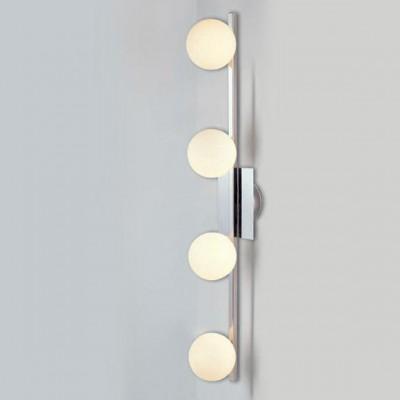 Светильник Globo 5663-4 CardiffС 4 лампами<br>Светильники-споты – это оригинальные изделия с современным дизайном. Они позволяют не ограничивать свою фантазию при выборе освещения для интерьера. Такие модели обеспечивают достаточно качественный свет. Благодаря компактным размерам Вы можете использовать несколько спотов для одного помещения.  Интернет-магазин «Светодом» предлагает необычный светильник-спот Globo 5663-4 по привлекательной цене. Эта модель станет отличным дополнением к люстре, выполненной в том же стиле. Перед оформлением заказа изучите характеристики изделия.  Купить светильник-спот Globo 5663-4 в нашем онлайн-магазине Вы можете либо с помощью формы на сайте, либо по указанным выше телефонам. Обратите внимание, что у нас склады не только в Москве и Екатеринбурге, но и других городах России.<br><br>S освещ. до, м2: 10<br>Тип лампы: галогенная / LED-светодиодная<br>Тип цоколя: G9<br>Цвет арматуры: серебристый<br>Количество ламп: 4<br>Ширина, мм: 160<br>Длина, мм: 800<br>Расстояние от стены, мм: 160<br>Высота, мм: 160<br>MAX мощность ламп, Вт: 33