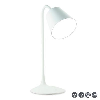 Настольная лампа Mantra 5670 READINGсветодиодные настольные лампы<br>Настольная лампа – это не просто источник дополнительного освещения, но и оригинальный элемент декора. Его можно установить в спальне, гостиной, кабинете и других комнатах. Интернет-магазин «Светодом» предлагает настольные лампы разных стилей по доступным ценам. Благодаря большому ассортименту Вы обязательно найдете в нашем каталоге именно ту модель, которую искали.   Настольная лампа Mantra 5670 – прекрасный вариант для завершения интерьера. Ее можно включить одновременно с люстрой для более яркого освещения или без нее для создания уютной атмосферы, настраивающей на отдых.   Купить настольную лампу Mantra 5670 Вы можете с помощью виртуальной «Корзины» или по контактным номерам, указанным на сайте.<br><br>Цветовая t, К: Диммируемый холодный свет (5000-6500K)<br>Тип лампы: LED (входят в комплект)<br>Тип цоколя: LED<br>Цвет арматуры: белый<br>Диаметр, мм мм: 170<br>Высота, мм: 430<br>MAX мощность ламп, Вт: 3,2