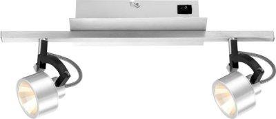 Светильник Globo 56947-2 HaleyДвойные<br>Светильники-споты – это оригинальные изделия с современным дизайном. Они позволяют не ограничивать свою фантазию при выборе освещения для интерьера. Такие модели обеспечивают достаточно качественный свет. Благодаря компактным размерам Вы можете использовать несколько спотов для одного помещения.  Интернет-магазин «Светодом» предлагает необычный светильник-спот Globo 56947-2 по привлекательной цене. Эта модель станет отличным дополнением к люстре, выполненной в том же стиле. Перед оформлением заказа изучите характеристики изделия.  Купить светильник-спот Globo 56947-2 в нашем онлайн-магазине Вы можете либо с помощью формы на сайте, либо по указанным выше телефонам. Обратите внимание, что мы предлагаем доставку не только по Москве и Екатеринбургу, но и всем остальным российским городам.<br><br>Тип лампы: LED - светодиодная<br>Тип цоколя: LED<br>Количество ламп: 2<br>Ширина, мм: 90<br>MAX мощность ламп, Вт: 5<br>Длина, мм: 404<br>Цвет арматуры: серый