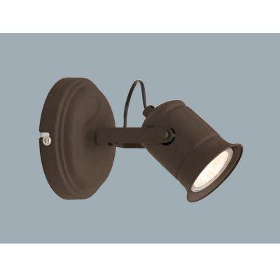 Светильник поворотный Brilliant G05710/20 CAPОдиночные<br>Зачастую мы ищем идеальное освещение для своего дома и уделяем этому достаточно много времени. Так, например, если нам нужен светильник с количеством ламп - 1 и цвет плафонов должен быть - коричневый, а материал плафонов только металл! То нам, как вариант, подойдет модель - спот Brilliant G05710/20.<br><br>S освещ. до, м2: 3<br>Тип лампы: галогенная / LED-светодиодная<br>Тип цоколя: GU10<br>Цвет арматуры: коричневый<br>Количество ламп: 1<br>Ширина, мм: 110<br>Диаметр, мм мм: 110<br>Выступ, мм: 160<br>Высота, мм: 140<br>MAX мощность ламп, Вт: 50