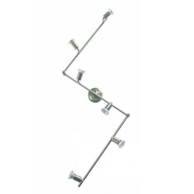 Светильник Globo 5739-6 HotБолее 5 ламп<br>Светильники-споты – это оригинальные изделия с современным дизайном. Они позволяют не ограничивать свою фантазию при выборе освещения для интерьера. Такие модели обеспечивают достаточно качественный свет. Благодаря компактным размерам Вы можете использовать несколько спотов для одного помещения.  Интернет-магазин «Светодом» предлагает необычный светильник-спот Globo 5739-6 по привлекательной цене. Эта модель станет отличным дополнением к люстре, выполненной в том же стиле. Перед оформлением заказа изучите характеристики изделия.  Купить светильник-спот Globo 5739-6 в нашем онлайн-магазине Вы можете либо с помощью формы на сайте, либо по указанным выше телефонам. Обратите внимание, что у нас склады не только в Москве и Екатеринбурге, но и других городах России.<br><br>S освещ. до, м2: 20<br>Тип лампы: галогенная / LED-светодиодная<br>Тип цоколя: GU10<br>Количество ламп: 6<br>MAX мощность ламп, Вт: 50<br>Длина, мм: 1500<br>Высота, мм: 140<br>Цвет арматуры: серый