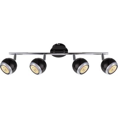 Светильник Globo 57884-4 OmanС 4 лампами<br>Светильники-споты – это оригинальные изделия с современным дизайном. Они позволяют не ограничивать свою фантазию при выборе освещения для интерьера. Такие модели обеспечивают достаточно качественный свет. Благодаря компактным размерам Вы можете использовать несколько спотов для одного помещения.  Интернет-магазин «Светодом» предлагает необычный светильник-спот Globo 57884-4 по привлекательной цене. Эта модель станет отличным дополнением к люстре, выполненной в том же стиле. Перед оформлением заказа изучите характеристики изделия.  Купить светильник-спот Globo 57884-4 в нашем онлайн-магазине Вы можете либо с помощью формы на сайте, либо по указанным выше телефонам. Обратите внимание, что мы предлагаем доставку не только по Москве и Екатеринбургу, но и всем остальным российским городам.<br><br>Цветовая t, К: 3000<br>Тип лампы: накаливания / энергосберегающая / светодиодная<br>Тип цоколя: GU10<br>Количество ламп: 4<br>MAX мощность ламп, Вт: 3<br>Диаметр, мм мм: 550<br>Высота, мм: 150<br>Поверхность арматуры: матовый, глянцевый<br>Цвет арматуры: серебристый<br>Общая мощность, Вт: 12