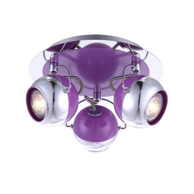 Светильник Globo 57887-3OТройные<br><br><br>Тип товара: Светильник<br>Скидка, %: 57<br>Тип лампы: галогенная/LED<br>Тип цоколя: GU10<br>Количество ламп: 3<br>MAX мощность ламп, Вт: 5<br>Диаметр, мм мм: 250<br>Высота, мм: 135<br>Цвет арматуры: серебристый