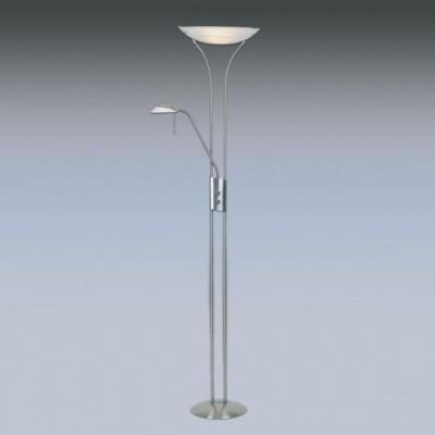 Торшер Globo 58027 LupoСовременные торшеры<br><br><br>S освещ. до, м2: 20<br>Тип лампы: галогенная / LED-светодиодная<br>Тип цоколя: R7S 118mm<br>Цвет арматуры: никель/хром<br>Количество ламп: 1<br>Ширина, мм: 320<br>Диаметр, мм мм: 320<br>Длина, мм: 420<br>Высота, мм: 1830<br>MAX мощность ламп, Вт: 230