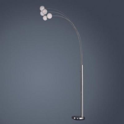 Торшер Globo 58222 Classic styleДекоративные<br>Торшер – это не просто функциональный предмет интерьера, позволяющий обеспечить дополнительное освещение, но и оригинальный декоративный элемент. Интернет-магазин «Светодом» предлагает стильные модели от известных производителей по доступным ценам. У нас Вы найдете и классические напольные светильники, и современные варианты.   Торшер 58222 Globo сразу же привлекает внимание благодаря своему необычному дизайну. Модель выполнена из качественных материалов, что обеспечит ее надежную и долговечную работу. Такой напольный светильник можно использовать для интерьера не только гостиной, но и спальни или кабинета.   Купить торшер 58222 Globo по выгодной стоимости Вы можете с помощью нашего сайта. Мы доставляем заказы по Москве, Екатеринбургу и другим городам России.<br><br>S освещ. до, м2: 13<br>Тип лампы: галогенная / LED-светодиодная<br>Тип цоколя: G9<br>Количество ламп: 5<br>Ширина, мм: 900<br>MAX мощность ламп, Вт: 33<br>Длина, мм: 900<br>Высота, мм: 2150<br>Цвет арматуры: серебристый хром