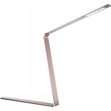 Светильник Globo 58232 EstelarСветодиодные<br><br><br>Тип товара: настольная лампа<br>Тип лампы: галогенная / LED-светодиодная<br>Тип цоколя: LED<br>Количество ламп: 1<br>Ширина, мм: 50<br>MAX мощность ламп, Вт: 10<br>Длина, мм: 440<br>Высота, мм: 870<br>Цвет арматуры: золотой
