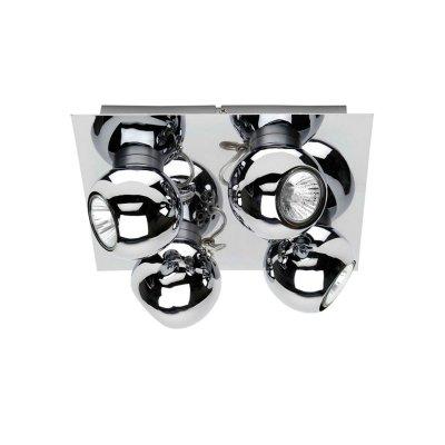 Светильник Brilliant G58235/15 Magnitoспоты 4 лампы<br>Зачастую мы ищем идеальное освещение для своего дома и уделяем этому достаточно много времени. Так, например, если нам нужен светильник с количеством ламп - 4 и цвет плафонов должен быть - хром, а материал плафонов только металл! То нам, как вариант, подойдет модель - система спотов Brilliant G58235/15.<br><br>S освещ. до, м2: 13<br>Тип лампы: галогенная / LED-светодиодная<br>Тип цоколя: GU10<br>Цвет арматуры: серебристый<br>Количество ламп: 4<br>Ширина, мм: 250<br>Выступ, мм: 115<br>Длина, мм: 250<br>Высота, мм: 250<br>MAX мощность ламп, Вт: 50