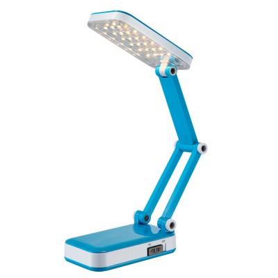 Светильник Globo 58354Светодиодные<br>Настольная лампа – это не просто источник дополнительного освещения, но и оригинальный элемент декора. Его можно установить в спальне, гостиной, кабинете и других комнатах. Интернет-магазин «Светодом» предлагает настольные лампы разных стилей по доступным ценам. Благодаря большому ассортименту Вы обязательно найдете в нашем каталоге именно ту модель, которую искали. <br> Настольная лампа Globo 58354 – прекрасный вариант для завершения интерьера. Ее можно включить одновременно с люстрой для более яркого освещения или без нее для создания уютной атмосферы, настраивающей на отдых. <br> Купить настольную лампу Globo 58354 Вы можете с помощью виртуальной «Корзины» или по контактным номерам, указанным на сайте.<br><br>Тип лампы: LED<br>Тип цоколя: LED<br>Количество ламп: 1<br>Ширина, мм: 130<br>MAX мощность ламп, Вт: 2,5<br>Длина, мм: 75<br>Высота, мм: 370<br>Цвет арматуры: белый/голубой