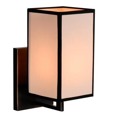 Светильник настенный Divinare 5933/01 AP-1современные бра модерн<br><br><br>Тип лампы: Накаливания / энергосбережения / светодиодная<br>Тип цоколя: E14<br>Цвет арматуры: коричневый<br>Количество ламп: 1<br>Диаметр, мм мм: 120<br>Длина, мм: 180<br>Высота, мм: 250<br>MAX мощность ламп, Вт: 40