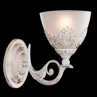 Светильник Евросвет 60010/1 белый с золотомКлассические<br><br><br>Тип лампы: Накаливания / энергосбережения / светодиодная<br>Тип цоколя: E14<br>Количество ламп: 1<br>Ширина, мм: 140<br>MAX мощность ламп, Вт: 40<br>Длина, мм: 160<br>Высота, мм: 250