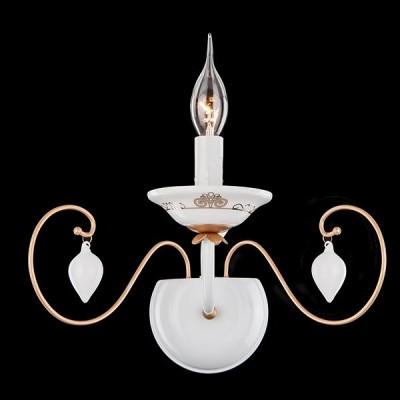 Светильник бра Евросвет 60013/1 белыйРустика<br><br><br>Тип лампы: Накаливания / энергосбережения / светодиодная<br>Тип цоколя: E14<br>Количество ламп: 1<br>Ширина, мм: 290<br>MAX мощность ламп, Вт: 60<br>Расстояние от стены, мм: 244<br>Высота, мм: 233<br>Цвет арматуры: белый
