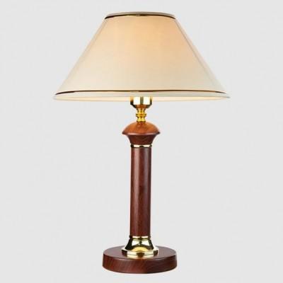 Светильник Евросвет 60019/1 темное деревоКлассические<br>Настольная лампа – это не просто источник дополнительного освещения, но и оригинальный элемент декора. Его можно установить в спальне, гостиной, кабинете и других комнатах. Интернет-магазин «Светодом» предлагает настольные лампы разных стилей по доступным ценам. Благодаря большому ассортименту Вы обязательно найдете в нашем каталоге именно ту модель, которую искали.   Настольная лампа Евросвет 60019/1 – прекрасный вариант для завершения интерьера. Ее можно включить одновременно с люстрой для более яркого освещения или без нее для создания уютной атмосферы, настраивающей на отдых.   Купить настольную лампу Евросвет 60019/1 Вы можете с помощью виртуальной «Корзины» или по контактным номерам, указанным на сайте.<br><br>Тип лампы: Накаливания / энергосбережения / светодиодная<br>Тип цоколя: E27<br>Количество ламп: 1<br>MAX мощность ламп, Вт: 60<br>Диаметр, мм мм: 160<br>Высота, мм: 400