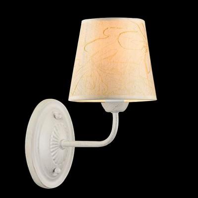 Светильник Евросвет 60025/1 белый с серебромКлассические<br><br><br>Тип лампы: Накаливания / энергосбережения / светодиодная<br>Тип цоколя: E14<br>Цвет арматуры: серебристый<br>Количество ламп: 1<br>Ширина, мм: 140<br>Длина, мм: 280<br>Высота, мм: 230<br>MAX мощность ламп, Вт: 40