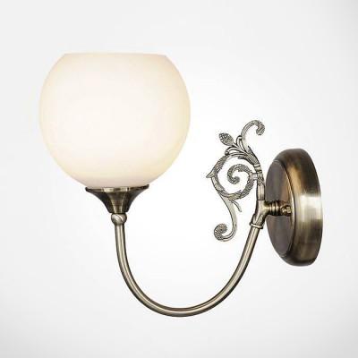 Евросвет 60052/1 античная бронзаКлассика<br><br><br>Тип лампы: Накаливания / энергосбережения / светодиодная<br>Тип цоколя: E14<br>Количество ламп: 1<br>Ширина, мм: 120<br>MAX мощность ламп, Вт: 60<br>Расстояние от стены, мм: 260<br>Высота, мм: 280
