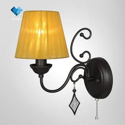 Евросвет 60054/1 венгеКлассические<br><br><br>Тип лампы: Накаливания / энергосбережения / светодиодная<br>Тип цоколя: E14<br>Количество ламп: 1<br>Ширина, мм: 120<br>MAX мощность ламп, Вт: 40<br>Высота, мм: 310