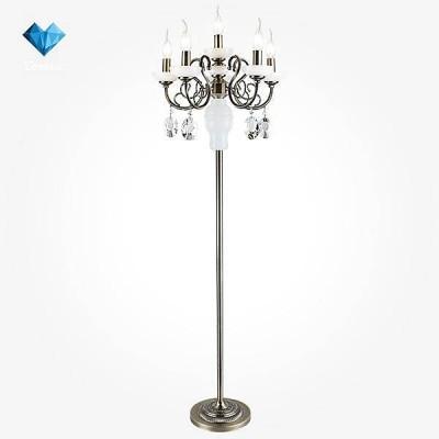 Евросвет 60056/6 античная бронзаКлассические<br><br><br>Тип лампы: Накаливания / энергосбережения / светодиодная<br>Тип цоколя: E14<br>Количество ламп: 6<br>MAX мощность ламп, Вт: 60<br>Диаметр, мм мм: 440<br>Высота, мм: 1450