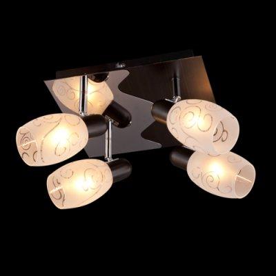 Поворотный светильник Евросвет 60301/4 хром/венге от Svetodom