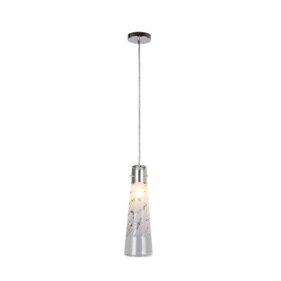 Светильник Colosseo 60319/1Одиночные<br><br><br>Тип товара: Светильник подвесной<br>Скидка, %: 49<br>Тип лампы: накаливания / энергосбережения / LED-светодиодная<br>Тип цоколя: E27<br>Количество ламп: 1<br>MAX мощность ламп, Вт: 60<br>Диаметр, мм мм: 120<br>Высота, мм: 500 - 1200<br>Цвет арматуры: серебристый