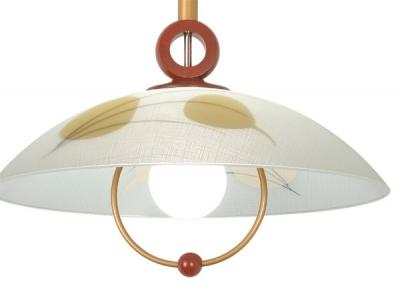 Светильник Сонекс П607 темн дуб FantasieДля кухни<br>*Сонекс-К П607<br><br>S освещ. до, м2: 6<br>Тип товара: Светильник подвесной<br>Тип лампы: накал-я - энергосбер-я<br>Тип цоколя: E27<br>Количество ламп: 1<br>MAX мощность ламп, Вт: 100<br>Диаметр, мм мм: 500<br>Высота, мм: 115<br>Цвет арматуры: деревянный
